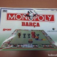 Juegos de mesa: MONOPOLI FUTBOL CLUB BARCELONA. Lote 69066169