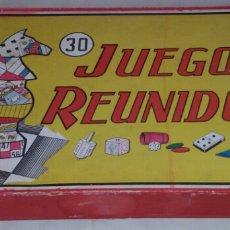 Juegos de mesa: JUEGOS REUNIDOS DE AÑOS 50.. Lote 69105715