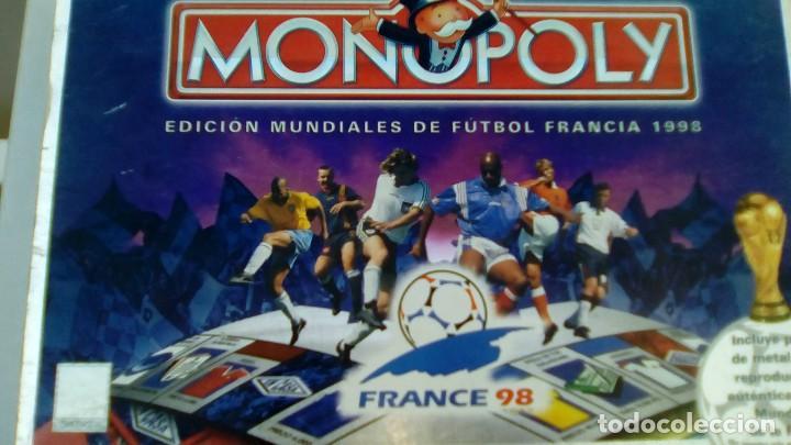 MONOPOLIY MUNDIAL FRANCIA 98 (Juguetes - Juegos - Juegos de Mesa)