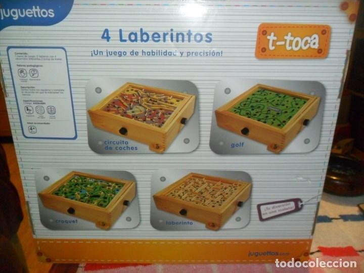 Laberintos Laberinto Hecho En Madera 4 En Un Comprar Juegos De