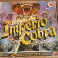 Juegos de mesa: CEFA EN BUSCA DEL IMPERIO COBRA - COMPLETO. Lote 69544325
