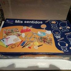 Juegos de mesa: JUEGO MIS SENTIDOS DE EDULAND COMPLETO VER FOTOS. Lote 69736453