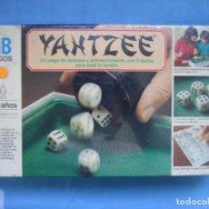 Juegos de mesa: 4 JUEGO DE MESA YAHTZEE DE MB. NO JUGADO Y PRESINTADO. Lote 69930861