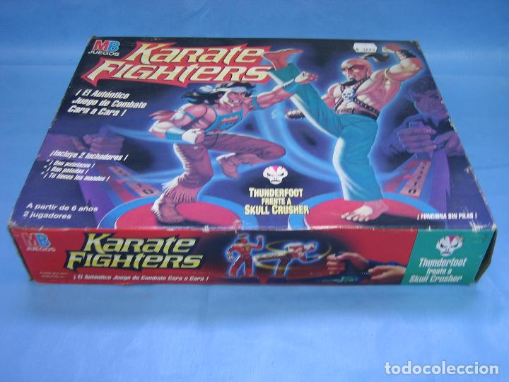 Juegos de mesa: 3 juego de mesa carate fignters de MB 1994. No jugado - Foto 2 - 159056689