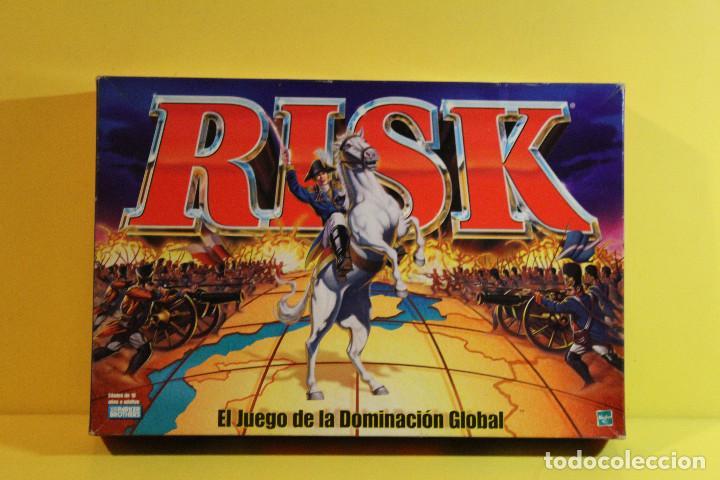 Juego De Mesa Risk El Juego De La Dominacion Comprar Juegos De