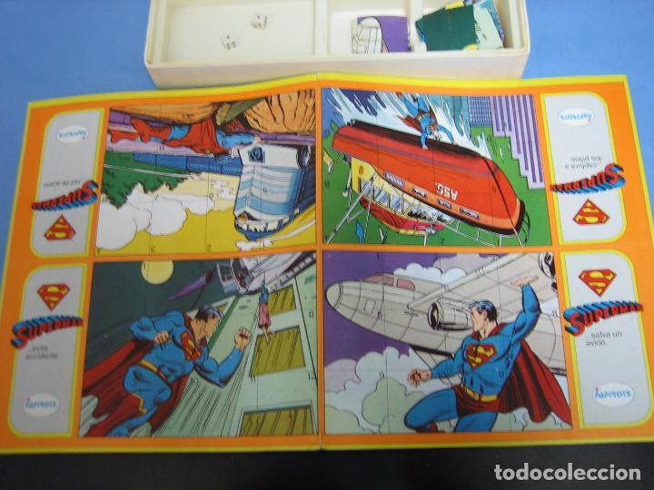 Juegos de mesa: 14 juego de mesa superman de Papirots. Incompleto - Foto 3 - 70118601