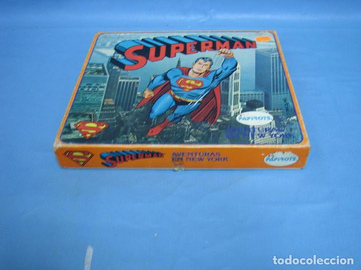 Juegos de mesa: 14 juego de mesa superman de Papirots. Incompleto - Foto 5 - 70118601