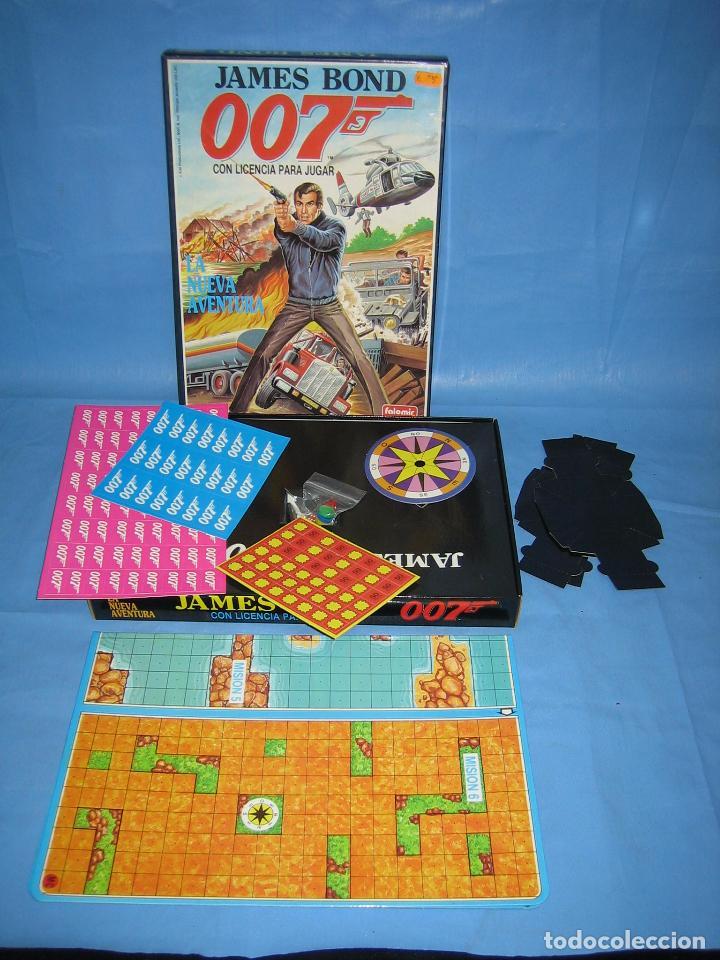 13 Juego De Mesa James Bond De Folomir 1990 Comprar Juegos De Mesa