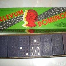 Juegos de mesa: JUEGO DOMINO DOMINOES GLEVUM AÑOS 50 MADE IN ENGLAND COMPLETO EN SU CAJA ORIGINAL BUEN ESTADO. Lote 70164805