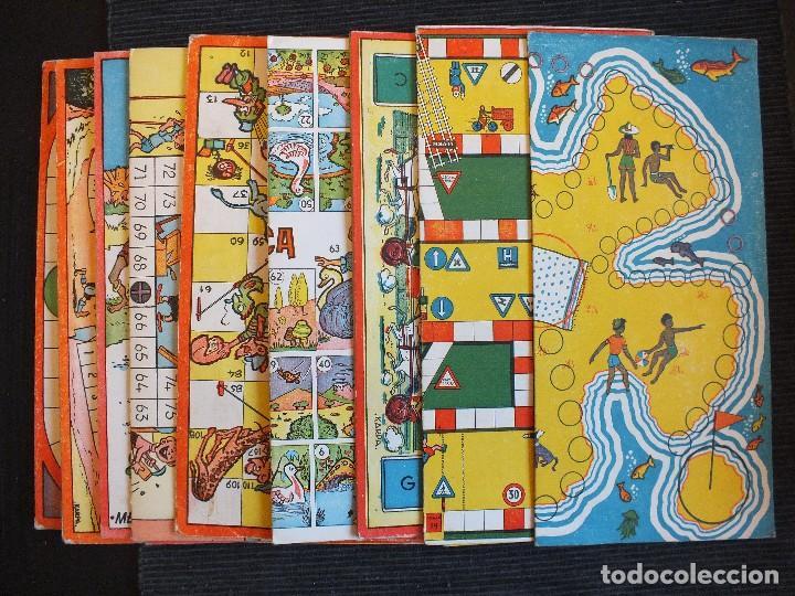 Antiguos 13 Tableros De Carton Juegos Reunidos Comprar Juegos De