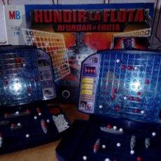 Juegos de mesa: MB JUEGOS HUNDIR LA FLOTA,HASBRO AÑO 2000. Lote 70372301