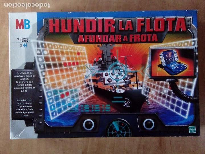 Juegos de mesa: MB JUEGOS HUNDIR LA FLOTA,HASBRO AÑO 2000 - Foto 6 - 70372301