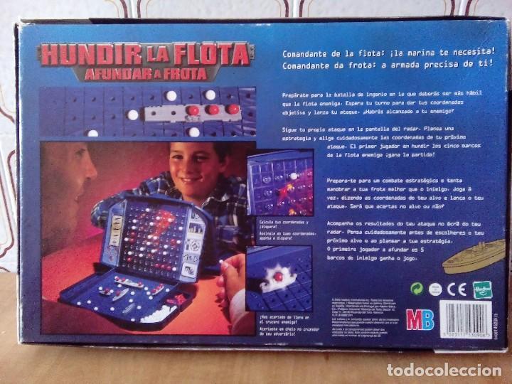 Juegos de mesa: MB JUEGOS HUNDIR LA FLOTA,HASBRO AÑO 2000 - Foto 8 - 70372301