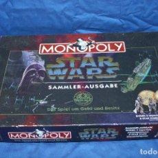 Juegos de mesa: MONOPOLY - STAR WARS - SAMMLER-AUSGABE - LA GUERRA DE LAS GALAXIAS AÑO 1997 VER FOTOS!! SBB. Lote 70465581