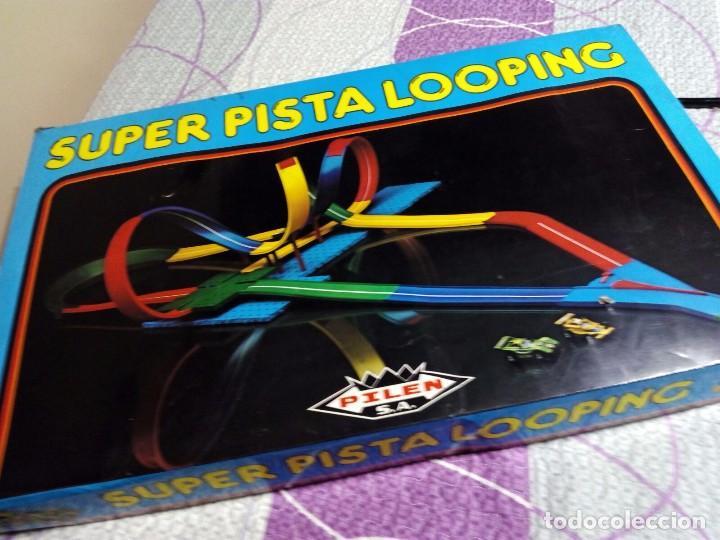 JUEGO SUPER PISTA LOOPING PILEN (Juguetes - Juegos - Juegos de Mesa)