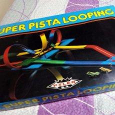 Juegos de mesa: JUEGO SUPER PISTA LOOPING PILEN. Lote 141785994