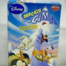 Juegos de mesa: RESCATE EN LA CIMA MICKEY'S ADVENTURES DISNEY - BIZAK. Lote 71094173
