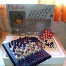 Juegos de mesa: AJEDREZ ELECTRONICO MEPHISTO NUEVO. Lote 71188121
