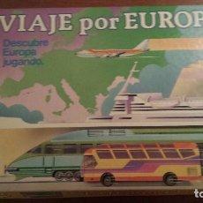 Juegos de mesa: JUEGO DE MESA VIAJE POR EUROPA. Lote 71213677