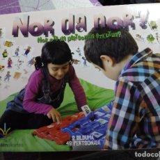 Juegos de mesa: NOR DA NOR - QUIEN ES QUIEN (VERSIÓN EUSKERA). Lote 105463159