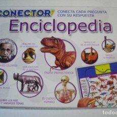 Juegos de mesa: JUEGO DE MESA CONECTOR ENCICLOPEDIA - EDUCA BORRAS 2009. Lote 71419567