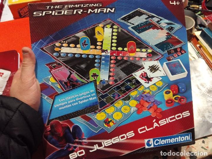 80 JUEGOS CLÁSICOS EDICIÓN SPIDERMAN (Juguetes - Juegos - Juegos de Mesa)