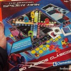 Juegos de mesa: 80 JUEGOS CLÁSICOS EDICIÓN SPIDERMAN. Lote 71422747
