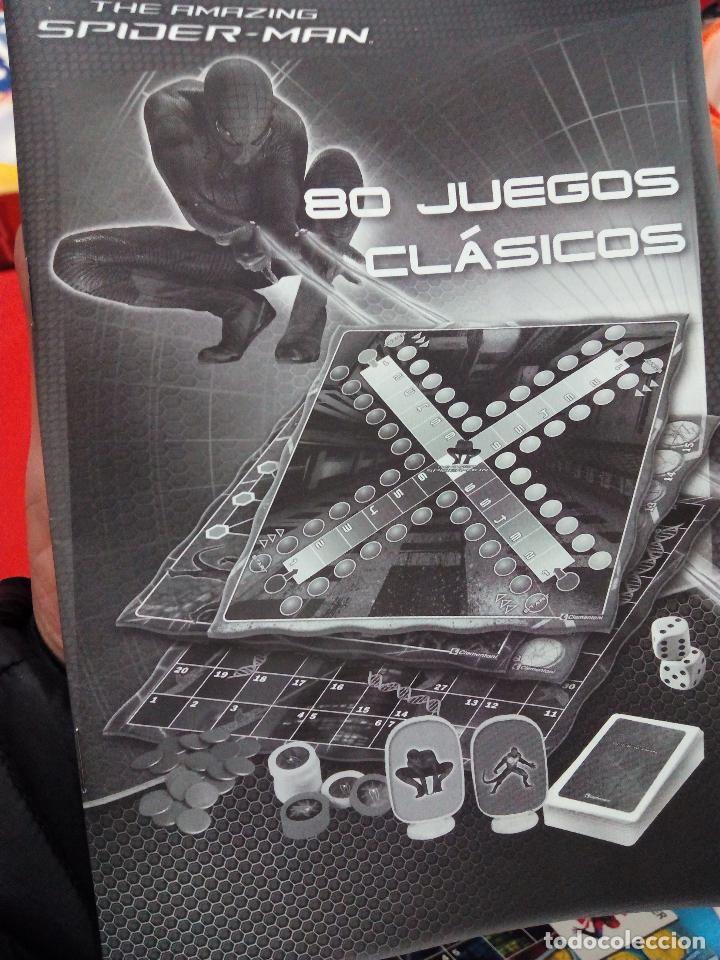 Juegos de mesa: 80 Juegos Clásicos Edición Spiderman - Foto 5 - 71422747