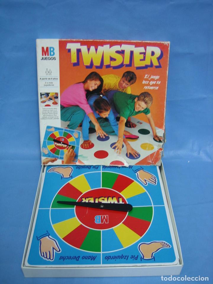 Juego De Mesa Twister De Mb 1989 Comprar Juegos De Mesa Antiguos