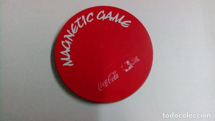 LATA DE COCA COLA CON JUEGOS MAGNÉTICOS (Juguetes - Juegos - Juegos de Mesa)