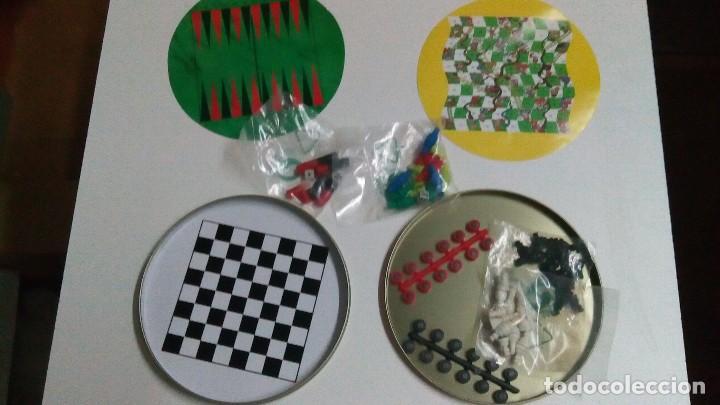 Juegos de mesa: Lata de Coca cola con juegos magnéticos - Foto 2 - 71677271