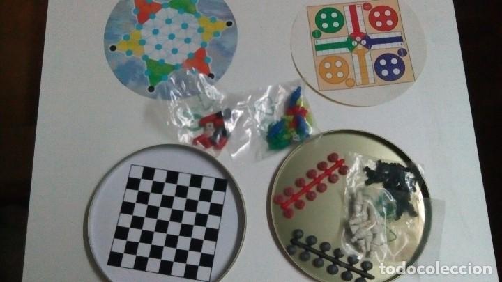 Juegos de mesa: Lata de Coca cola con juegos magnéticos - Foto 3 - 71677271