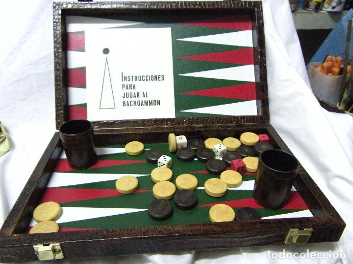 Juego Backgammon Comprar Juegos De Mesa Antiguos En Todocoleccion