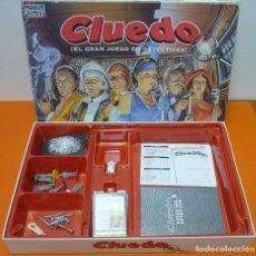 Juegos de mesa: CLUEDO- PARKER- JUEGO DE MESA- COMPLETO-AÑO 1996. Lote 72016699