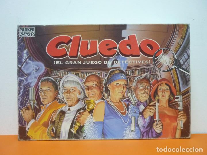 Juegos de mesa: CLUEDO- PARKER- JUEGO DE MESA- COMPLETO-AÑO 1996 - Foto 6 - 72016699
