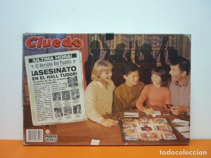 Juegos de mesa: CLUEDO- PARKER- JUEGO DE MESA- COMPLETO-AÑO 1996 - Foto 7 - 72016699