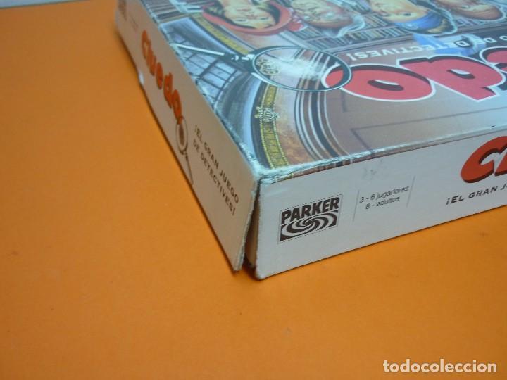 Juegos de mesa: CLUEDO- PARKER- JUEGO DE MESA- COMPLETO-AÑO 1996 - Foto 8 - 72016699