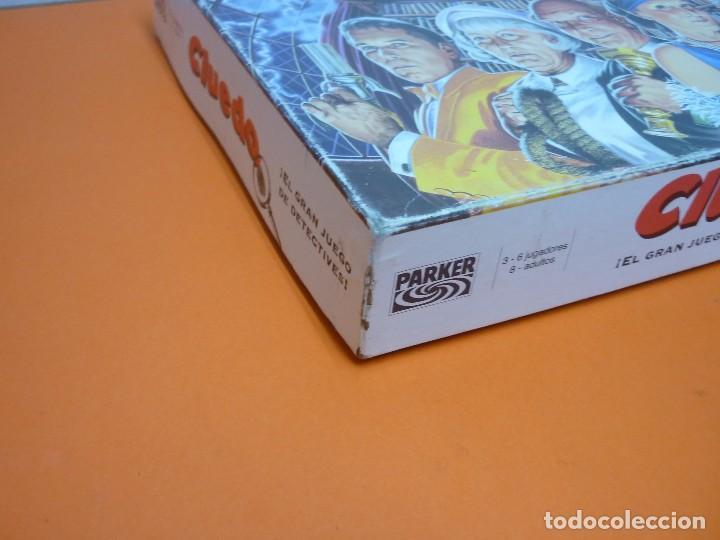 Juegos de mesa: CLUEDO- PARKER- JUEGO DE MESA- COMPLETO-AÑO 1996 - Foto 10 - 72016699