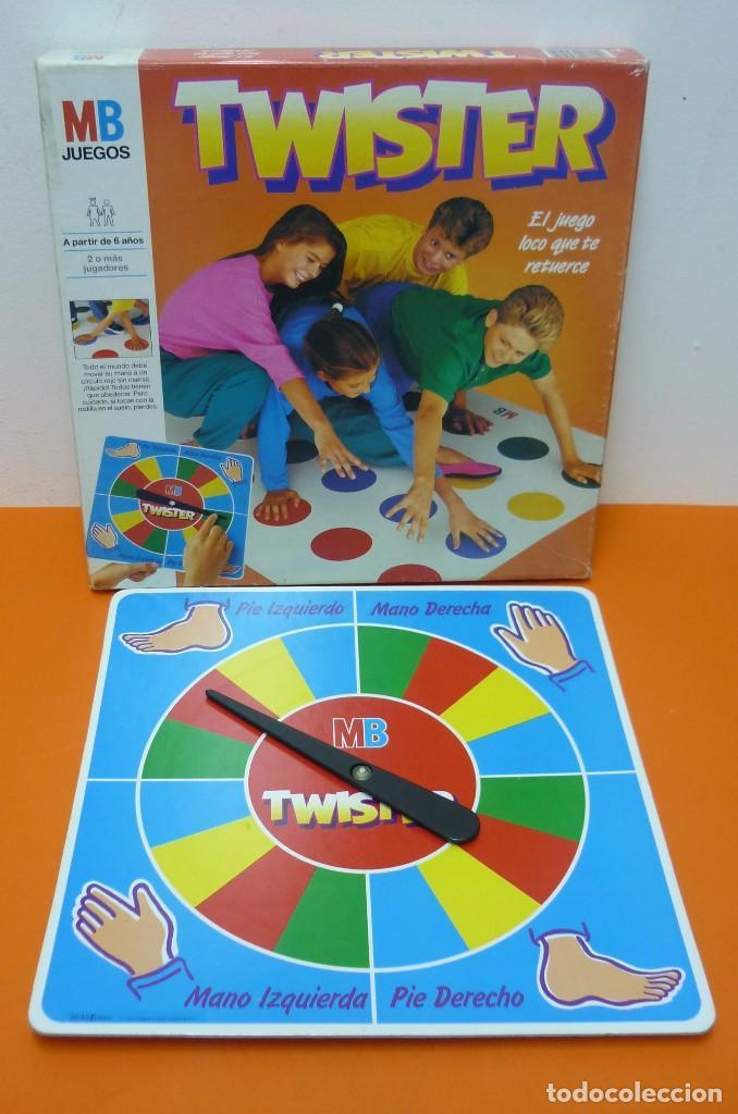Twister Mb Juego De Mesa Completo Comprar Juegos De Mesa