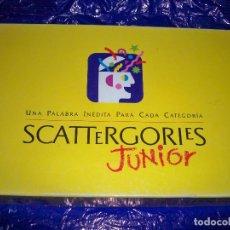 Juegos de mesa: JUEGO SCATTERGORIES JUNIOR MB 1992. Lote 72067643