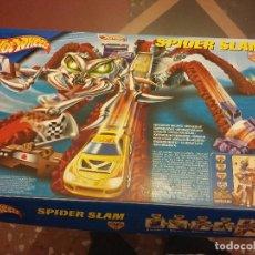 Juegos de mesa: HOT WHEELS SPIDER SLAM. Lote 72099163
