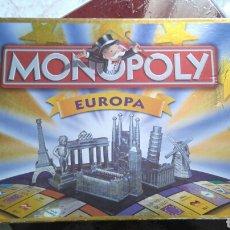 Juegos de mesa: MONOPOLY EUROPA DE PARKER. JUEGO DE MESA. Lote 192175317