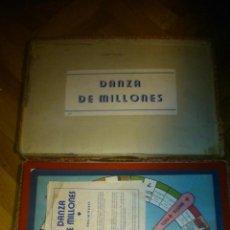 Juegos de mesa: DANZA DE MILLONES JUEGO DE MESA ESPAÑOL DE LOS AÑOS 40, SIMILAR AL PALE O MONOPOLY. Lote 72270219