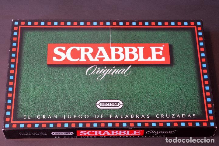 Juegos de mesa: SCRABBLE ORIGINAL JUEGO DE MESA COMPLETO SIN USO - Foto 2 - 72453535