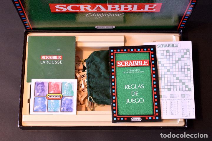 Juegos de mesa: SCRABBLE ORIGINAL JUEGO DE MESA COMPLETO SIN USO - Foto 4 - 72453535