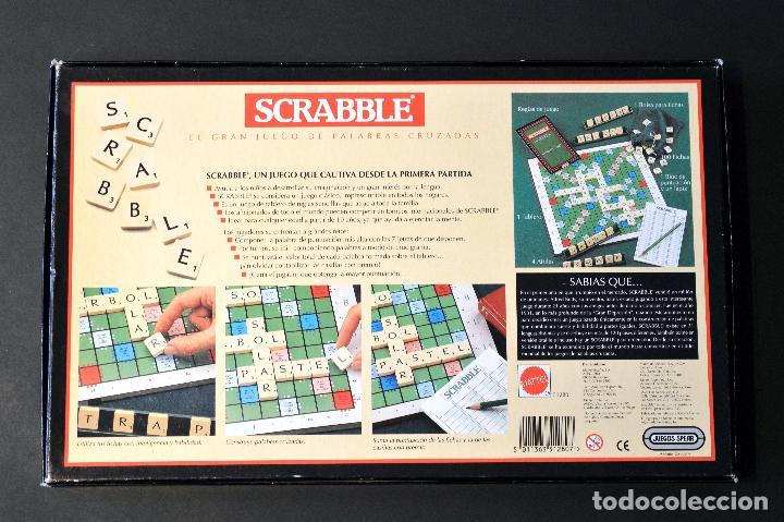 Juegos de mesa: SCRABBLE ORIGINAL JUEGO DE MESA COMPLETO SIN USO - Foto 9 - 72453535