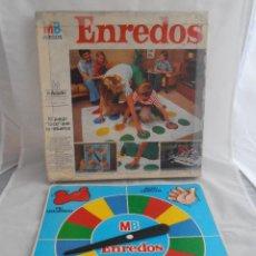 Juegos de mesa: JUEGO ENREDOS MB CAJA ORIGINAL COMPLETO, AÑOS 80. Lote 72852507