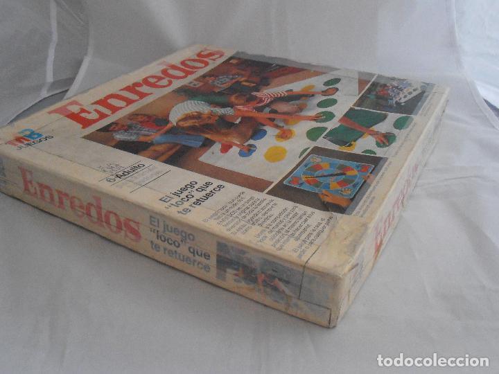 Juegos de mesa: JUEGO ENREDOS MB CAJA ORIGINAL COMPLETO, AÑOS 80 - Foto 2 - 72852507