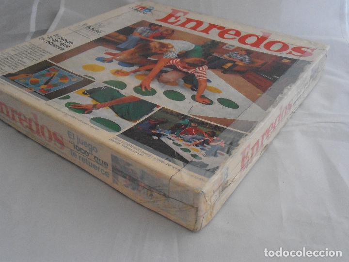 Juegos de mesa: JUEGO ENREDOS MB CAJA ORIGINAL COMPLETO, AÑOS 80 - Foto 3 - 72852507