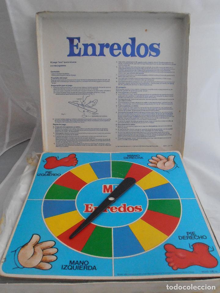Juegos de mesa: JUEGO ENREDOS MB CAJA ORIGINAL COMPLETO, AÑOS 80 - Foto 7 - 72852507